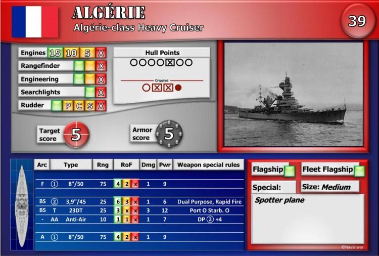 Algérie-class Heavy Cruiser