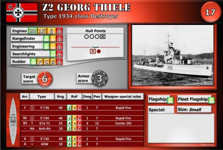 Type 1934-class Destroyer