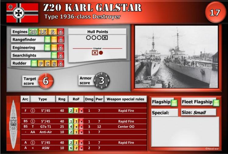 Type 1936-class Destroyer