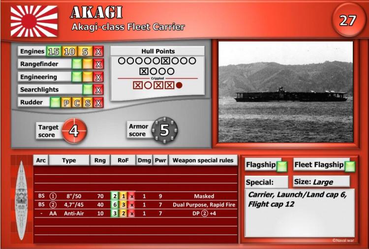 Akagi-class Fleet Carrier