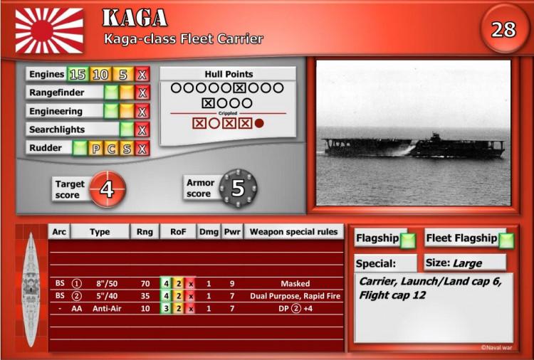 Kaga-class Fleet Carrier