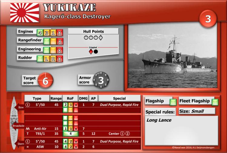 Kagerõ-class Destroyer