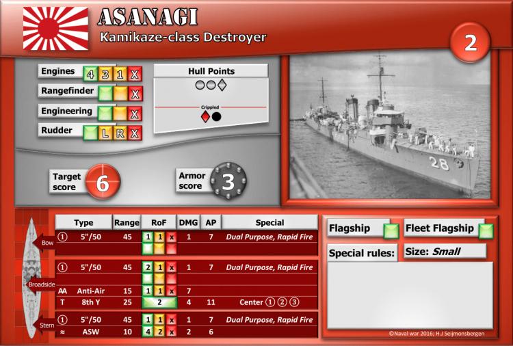 Kamikaze-class Destroyer