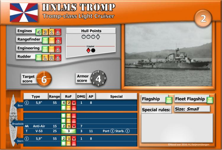 Tromp-class Light Cruiser