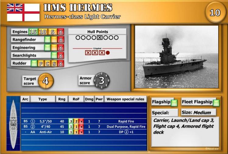 Hermes-class Light Carrier