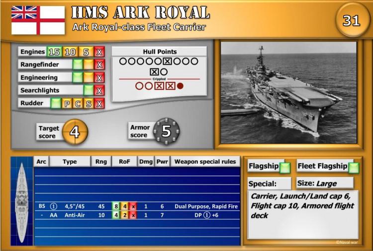 Ark Royal-class Fleet Carrier