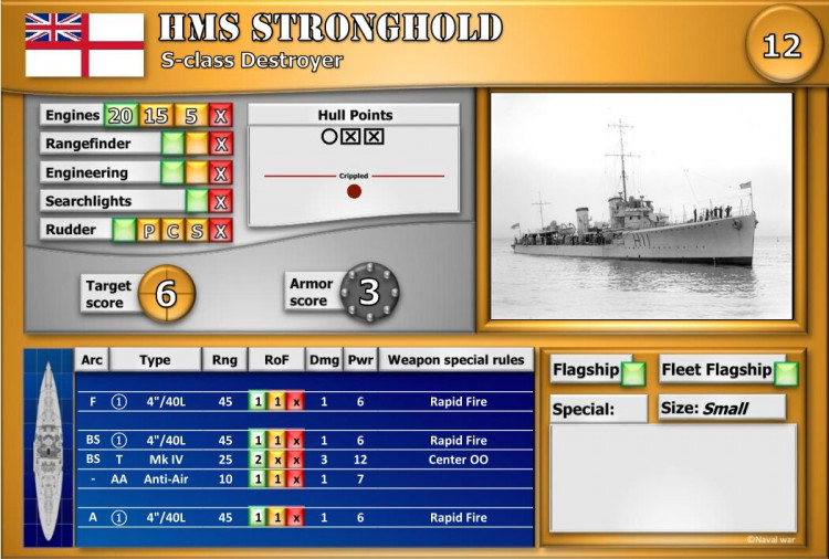 S-class Destroyer