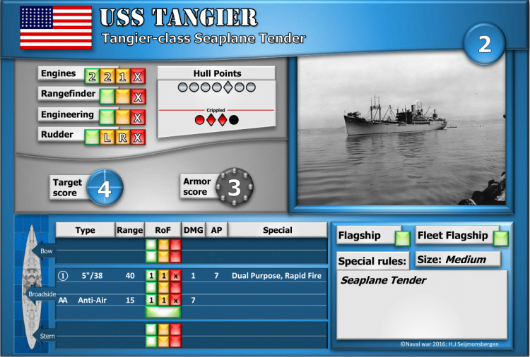 Tangier-class Seaplane Tender